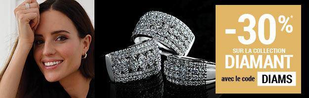 -30% sur la collection diamant avec le code DIAMS